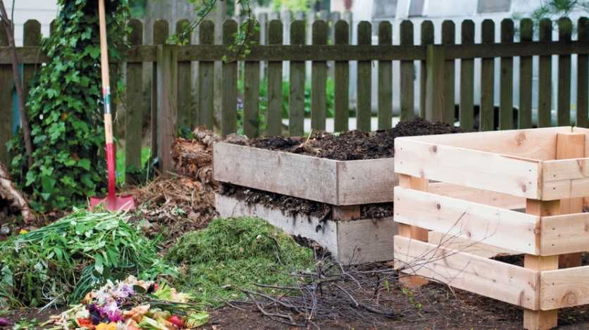 chef joshua backyard compost and compost bins