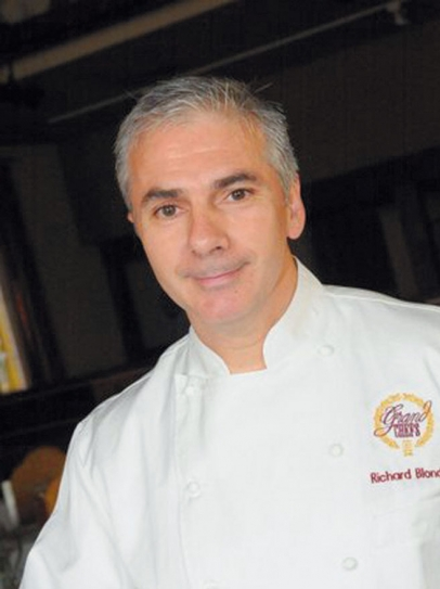 Chef Richard Blondin of The Refectory Restaurant and Bistro