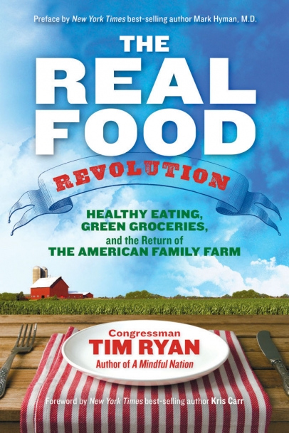 Real Food by Tim Ryan book cover