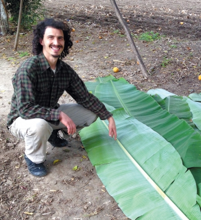 Brandon Jaeger of Shagbark Seed & Mill Co. in El Naranjo