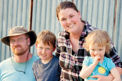 Lisa and Ben Sippel of Sippel Family Farm