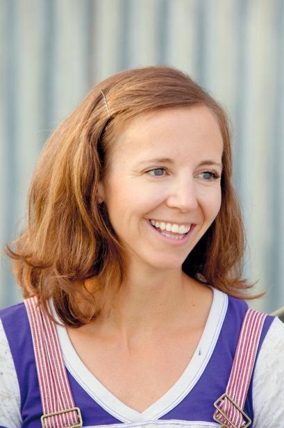 Becky Barnes of Dangling Carrot Farm