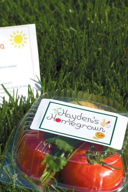 hayden's homegrown packaged locally grown tomatoes