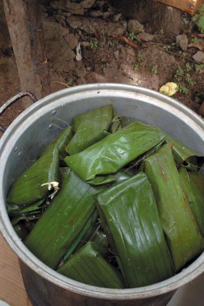 corn husks in mexico