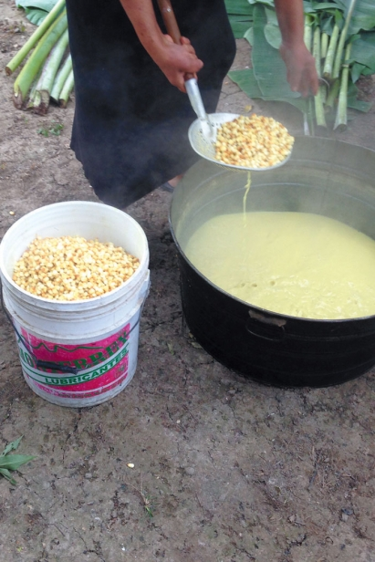 process of using corn to create delicious mexican dishes
