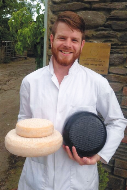 Cheesemaker Brian Schlatter