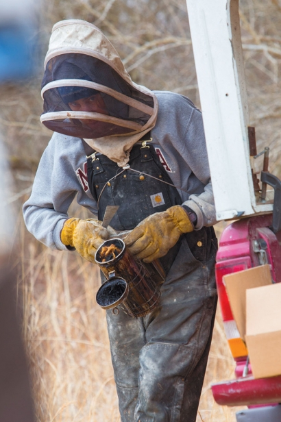 Isaac Barnes of Honeyrun Farm