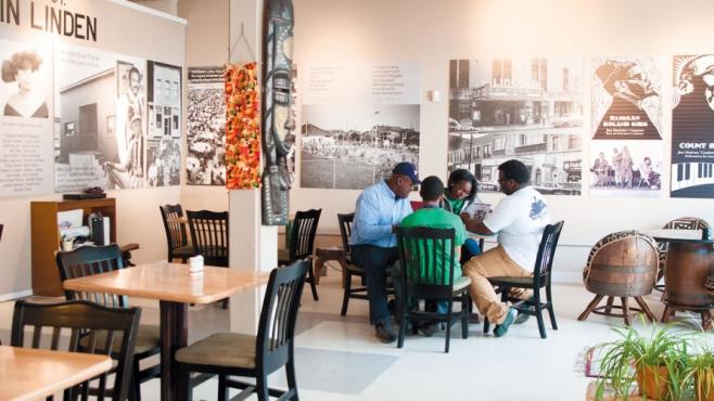 Kwodwo Ababio and New Harvest Cafe