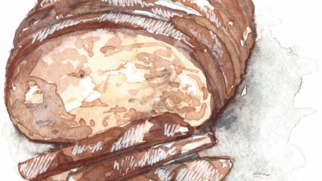 illustration of a sliced loaf of bread
