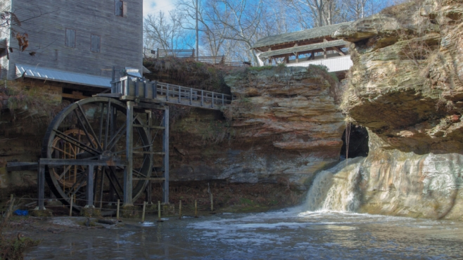 The Rock Mill in Fairfield County.