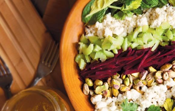 Herb Salad Grain Bowl
