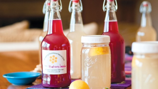 Natural Fizzy Soda from DIY Water Kefir